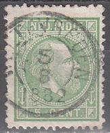 NETHERLANDS INDIES        SCOTT NO. 8      USED        YEAR  1870 - Niederländisch-Indien