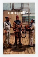 - CPA MARINE - DRESSING THE DIVER (avec Scaphandrier) - Pub. Raphael Tuck 9014 - - Métiers