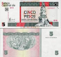Cuba 2007 - 5 Pesos Convertibles - Pick FX48 UNC - Cuba