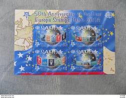 Bloc Feuillet Neuf Samoa 2006 : Cinquantenaire Du Timbre Europa - Europa-CEPT