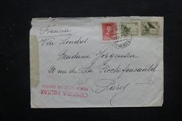 ESPAGNE - Censure Sur Enveloppe De  La Palma Pour La France Via Londres En 1936 , Affranchissement Plaisant - L 27843 - Republikanische Zensur