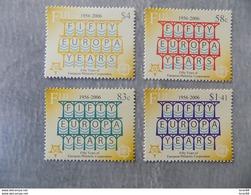 Série 4 Timbres Neuf Fidji 2006 : Cinquantenaire Du Timbre Europa - Europa-CEPT