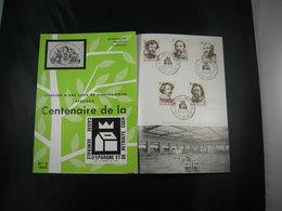 """BELG.1965 1322-1326 FDC Folder Fr.  : """" Grote Belgische Schilders /  Grands Peintres Belges"""" - FDC"""