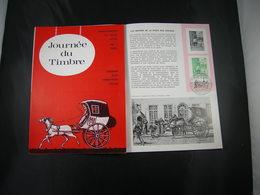 "BELG.1965 1328 FDC Folder Fr.  : "" Dag Van De Postzegel / Journéé Du Timbre "" - FDC"