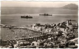 CPSM 06  En Avion Sur CANNES (navires Bateau ) - Cannes