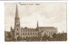 CPA - Carte Postale -INDE - Madras (Chennai) Cathédral St Thomas-1912  VM2104 - India