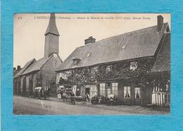 L'Hôtellerie. - Manoir De Blanche De Castille ( XVIe Siècle ), Café Maison Trosley. - Attelage. - Autres Communes