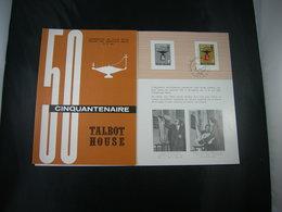 """BELG.1965 1336 FDC Folder Fr.  : """" Talbot House """" - FDC"""