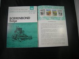 """BELG.1965 1340-1341 FDC Folder Fr.  : """" Boerenbond """" - FDC"""