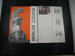 "BELG.1965 1337-1339 FDC Folder Fr.  : "" Hoffmann "" - FDC"