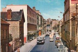 SAINT-OUEN-L'AUMONE (95). Rue Du Général Leclerc Animée. Camions, Nombreuses Voitures ( Transports: Automobile: Camions) - Trucks, Vans &  Lorries