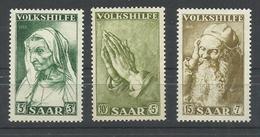 SARRE YVERT   347/49   MNH  ** - 1947-56 Ocupación Aliada