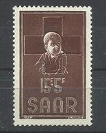 SARRE YVERT   330  MNH  ** - 1947-56 Ocupación Aliada
