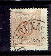 P 204 - Suède - Sweden - Taxe 1874 - 9b  2eme Choix - Cancelled - Port Dû (Taxe)
