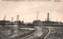 Waterloo - Les Deux Monuments, Gordon Et Hanovrien - Waterloo
