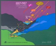 PORTUGAL - 1987 - MNH/*** LUXE - DISCO -  Mi BLOCK 55 Yv BLOC 56  - Lot 19393 - Blocs-feuillets