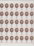 Faciale 12,20 Eur ; Feuille De 40 Tbs à 2.20 Fr N° 2573 (cote 40 Euros) - Feuilles Complètes