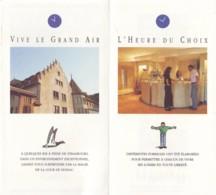 AC - B 3578 -67 -La Wantzenau  - Documents Divers Cour De Honau  -Port Gratuit - Dépliants Touristiques