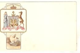 """Edinburgh"" Early Tuck Heraldic Series PC # 1862 - Quinton, AR"