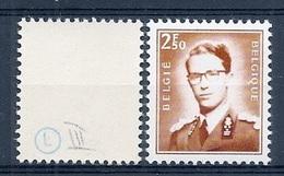 VARIA 128 * Boudewijn Bril * Nr 1574 * KEURSTEMPELTJES * Postfris Xx * FLUOR  PAPIER - 1953-1972 Occhiali