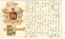 """Exeter"" Early Tuck Heraldic Series PC # 1863 - Quinton, AR"