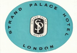 Strand Palace Hotel London - Hotel Labels