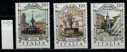 Italie - Italy - Italien 1979 Y&T N°1402 à 1404 - Michel N°1379 à 1381 *** - Fontaines D'Italie - 6. 1946-.. Republik