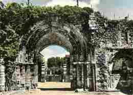 27 - Ivry La Bataille - Portail De L'Abbaye - Vieilles Pierres - Voir Scans Recto-Verso - Ivry-la-Bataille