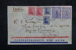 URUGUAY - Enveloppe Par Avion Pour La Société Caudron En 1933 , Affranchissement Plaisant - L 27861 - Uruguay