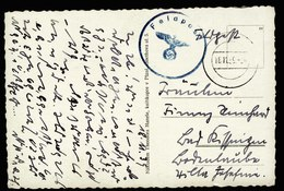 A6076) DR Feldpost Karte Pilsen 18.11.39 Altierter Stempel N. Bad Kissingen - Briefe U. Dokumente