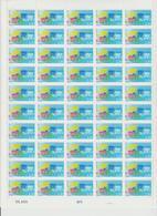 Faciale 16.75 Eur ; Feuille De 50 Tbs à 2.20 Fr N° 2590 (cote 55 Euros) - Feuilles Complètes