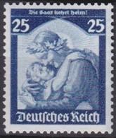 Deutsches Reich  .   Michel      .   568    .    *   .      Ungebraucht    .  /   .   Mint-hinged - Deutschland