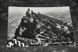 5766   REPUBBLICA SAN MARINO, SECONDA E TERRA TORRE - San Marino