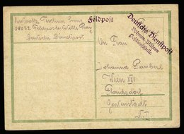 A6078) Böhmen & Mähren Feldpostkarte 19.09.39 Frühe Dienstpostkarte - Böhmen Und Mähren
