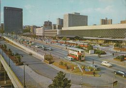 South Africa - Johannesburg - Railway Station - Cars - VW Käfer - Jaguar - Opel - Bus -  Nice Stamp - Südafrika