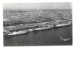 LE HAVRE. - Le Flandre - L'América - Le Liberté A Quai Et La Gare Maritime. (Bateau, Paquebot) - Le Havre