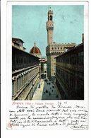 CPA - Carte Postale -Italie- Firenze Uffizi E Palazzo Vecchio 1903- VM2112 - Firenze