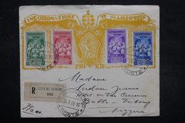 VATICAN - Enveloppe FDC ( Pie XII ) En Recommandé Pour La Suisse En 1939 - L 27872 - Lettres & Documents