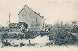 DUCEY - N° 1794 - MOULIN DES GRAINS SUR LA SELUNE (MOULIN A EAU) - Ducey