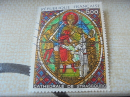 CATHEDRALE DE STRASBOURG (1985) - Used Stamps