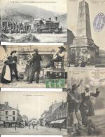 LOT DE 1000 CARTES DE FRANCE DIVERS A VOIR. TOUTES EN PETIT FORMATS - 500 Postcards Min.