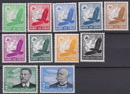Deutsches Reich  .   Michel      .    529/539    .    *   .      Ungebraucht    .  /   .   Mint-hinged - Deutschland