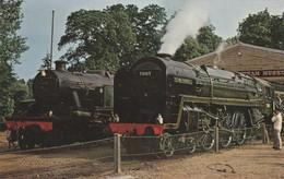 1960s To 1980s BRITISH RAILWAY /  OLIVER CROMWELL , BRITANNIA CLASS PACIFIC - Eisenbahnen