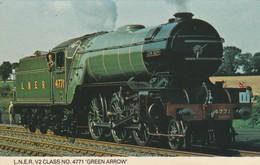 1960s To 1980s BRITISH RAILWAY /  L.N.E.R  V2 CLASS NO 4771 , GREEN ARROW - Eisenbahnen