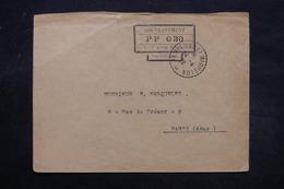 """SAINT PIERRE & MIQUELON - Enveloppe Des Inscriptions Maritime En  """" PP 030  """" De St Pierre Pour Paris En 1926 - L 27876 - Lettres & Documents"""