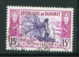 DAHOMEY- Y&T N°165- Oblitéré - Bénin – Dahomey (1960-...)