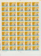 Faciale 16.75 Eur ; Feuille De 50 Tbs à 2.20 Fr N° 2613 (cote 55 Euros) - Feuilles Complètes