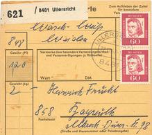 Paketkarte Ullersricht 8481 Schiller - [7] Federal Republic