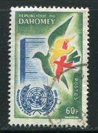 DAHOMEY- Y&T N°169- Oblitéré - Bénin – Dahomey (1960-...)