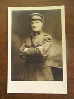 Oude Foto Militair Gesigneerd Rechts Onder - Guerre, Militaire